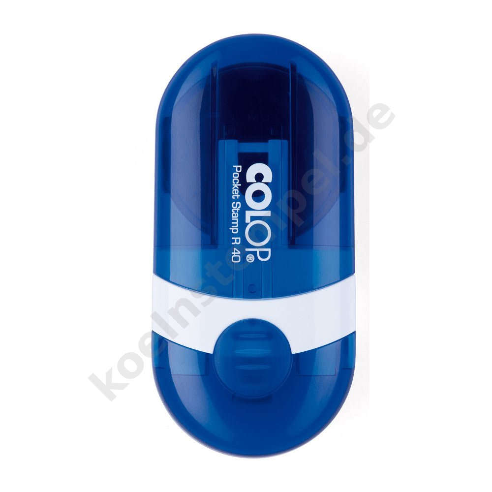 Colop Pocket Stamp R 40 GEO  blau